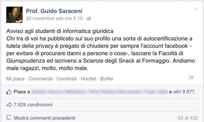 Prof. Guido Saraceni