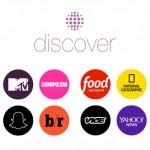 Snapchat lancia Discover per le news di qualità